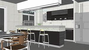 Google, Sketchup, Cabinets, Kitchen