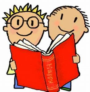 Cartoon Pictures Of Children Reading - Cliparts.co