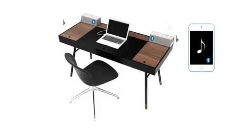 bureau bo concept boconcept cupertino 3d work desk home office furniture