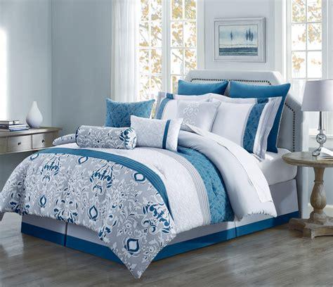teal and gray comforter sets 10 teal gray ivory reversible comforter set ebay