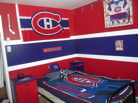 unique hockey bedroom design ideas  teenage guys