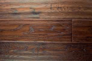 beautiful scrapped hardwood floors