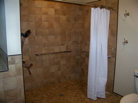 ada water and proper slope of curbless shower or