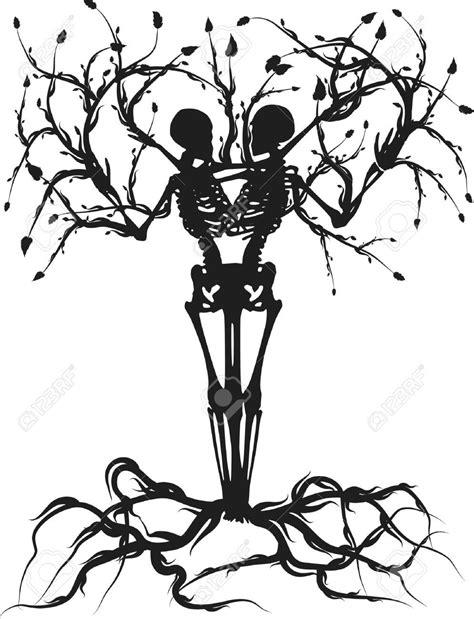 tree skeleton tattoo google search ink skeleton