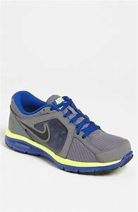 Nike Dual Fusion Run Running Shoe Men In Gray For Men
