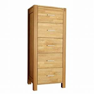 Kommode 110 Cm Hoch : kommode royal oak hoch 5 schubladen preiswert d nisches bettenlager ~ Bigdaddyawards.com Haus und Dekorationen
