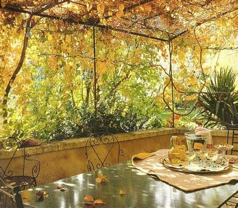 diy   fall  warm  cozy patio decorating
