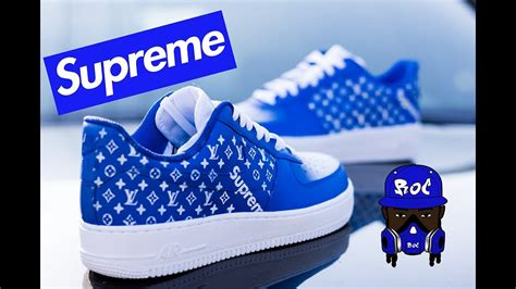 Supreme Shoes by How To Louis Vuitton Custom Supreme Shoes Angelus