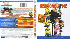 Despicable Me (2010) Blu-Ray Cover & Labels | Dvd Covers ...