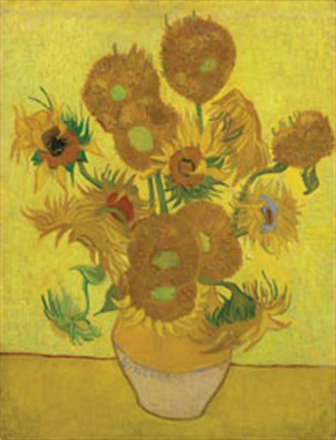sunflowers learn  art national gallery london