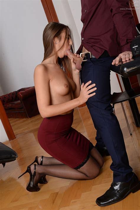 Sexy Secretary Knows Her Job Well Milf Fox