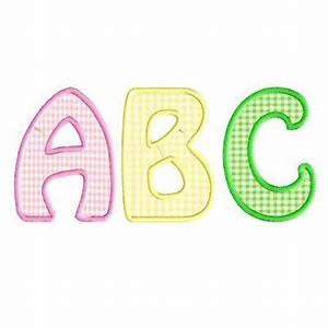meagan font applique alphabet With applique alphabet letters