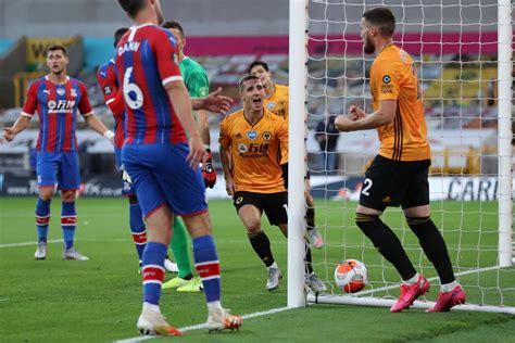 Wolves 2-0 Crystal Palace LIVE! Premier League result ...