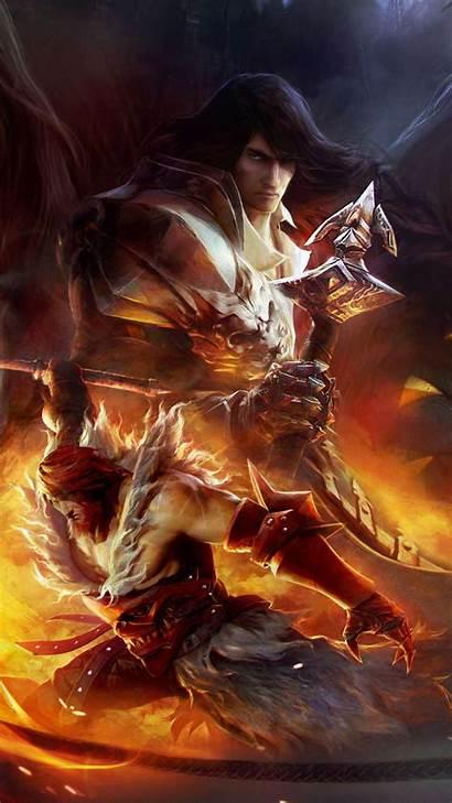 Castlevania Lords Shadow Backgrounds Gabriel Belmont Dracula