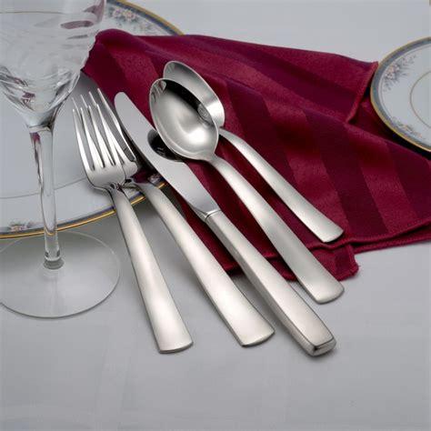flatware satin america usa liberty tabletop sets heavy gadgets richmond adds brushed finish
