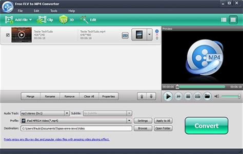 Our service will help you out! Free FLV to MP4 Converter | Download | TechTudo