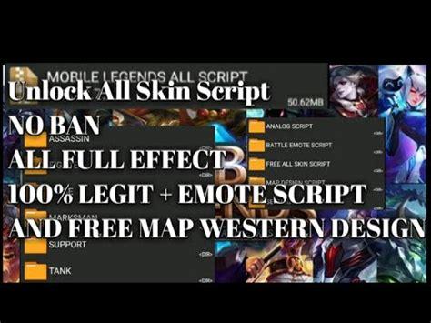 unlock  skin script emote script western map design