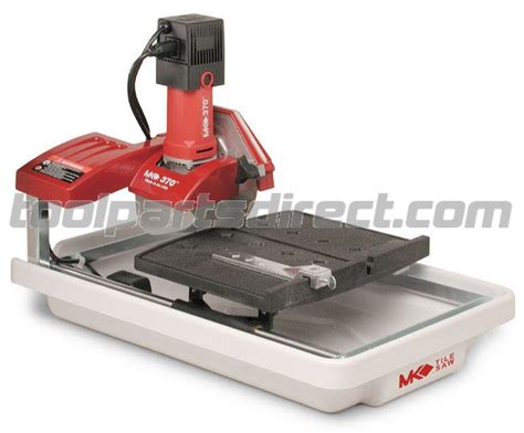 Mk 770 Tile Saw by Mk Mk 370 7 Quot 1 2 Hp Tile Saw 156440 Parts