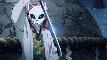 Sabito Demon Slayer Mask Workout Fox Cosplay