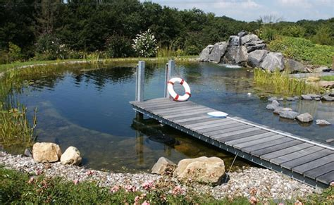 Steg Bauen Teich by Stege Im Schwimmteich