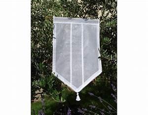 Rideau Brise Bise Lin Dentelle : brise bise largeur 80 cm ~ Teatrodelosmanantiales.com Idées de Décoration