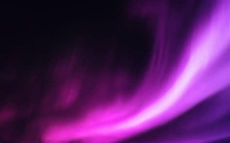 aurora purple night sky beautiful wallpaper