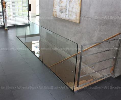garde corps horizontal bois m 233 tal inox verre escaliers