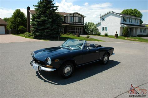 1974 Fiat Spider by 1974 Fiat 124 Spider Convertible Great Summer Car