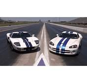 1100hp Ford GT Vs Viper  YouTube