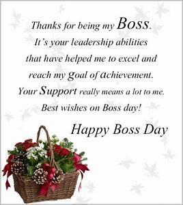 Holiday Greetings To Boss Sample
