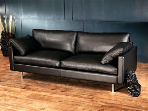 trou canapé cuir canapé cuir design et haut de gamme canapé