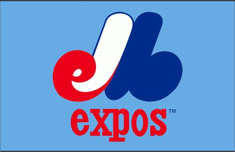montreal expos jersey logo national league nl chris