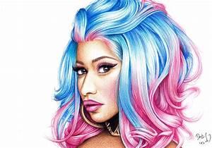 Nicki Minaj by DendaReloaded on DeviantArt