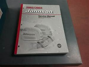 Service Manual For A 2002 Or 2003 Johnson Outboard Motor 9