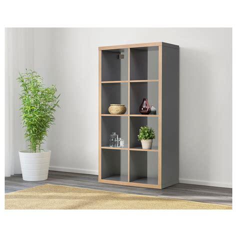 Ikea Kallax Arbeitszimmer by Shelf Unit Kallax Gray Wood Effect Room Kallax