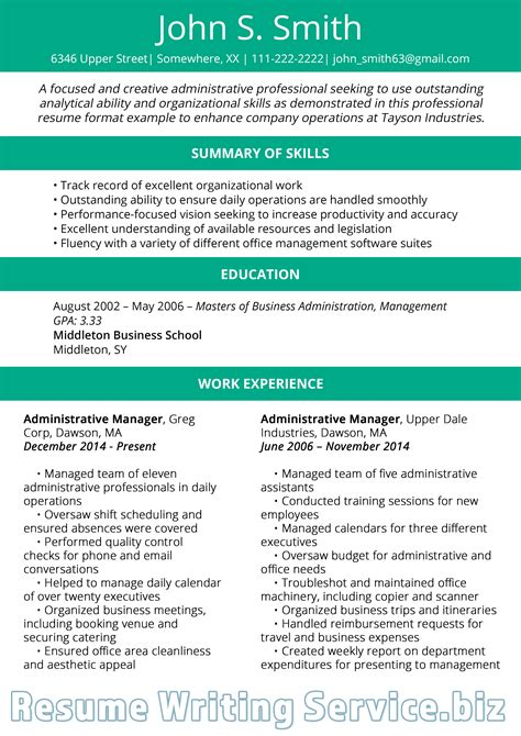 Professional Resume Styles by Best Resume Format 2019 Trends To Use