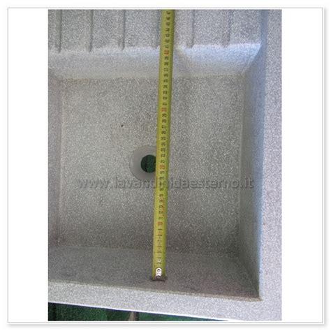 lavelli in cemento da esterno lavelli da esterno acquaio in graniglia levigata con foro