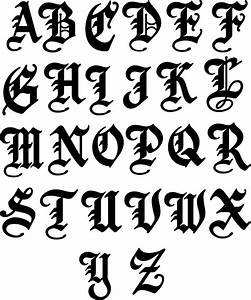 Old english letters letters free sample letters for Letter name signs