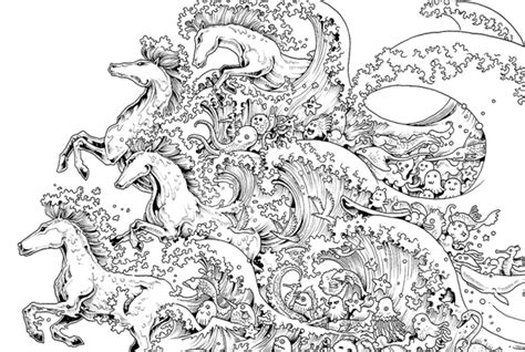 10 intricate adult coloring books to help you de stress