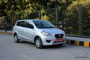 mercedes india cost datsun go mpv launched at price of inr 3 96 lakh