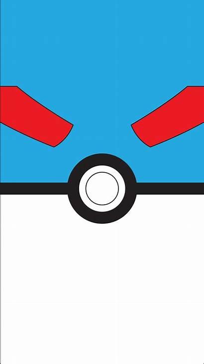 Pokeball Pokemon Ball Poke Background Wallpapers Minimalist