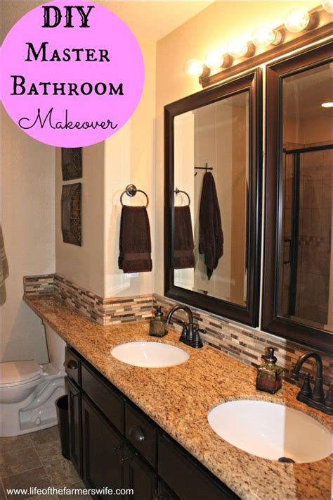 Complete Bathroom Remodel Diy by Complete Diy Remodel On A Master Bathroom Including