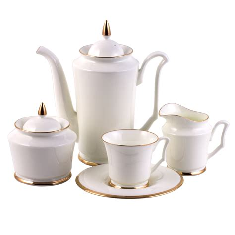 5731 tea and coffee sets golden ribbon 15 coffee set for 6 persons product