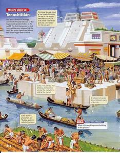 Then and Now: Tenochtitlan and Mexico City | Painted Words