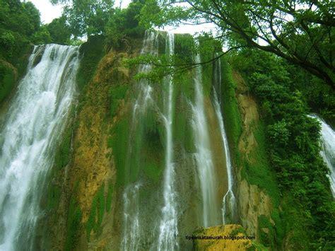 air terjun grojogan sewu pemandangan alam favorit