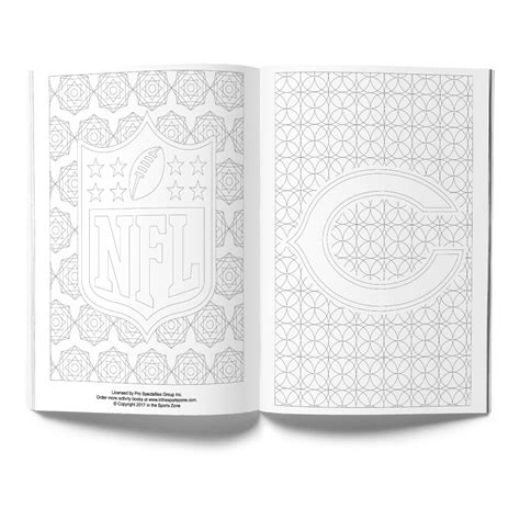chicago bears adult coloring book shop the in the sports