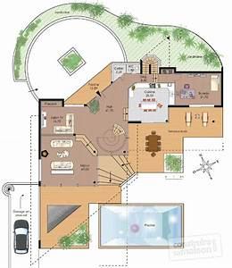 maison d39architecte 1 detail du plan de maison d With superb plan de grande maison 4 plan de maison archives architecture f g concepts