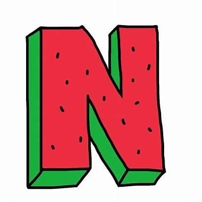 Letter Alphabet Watermelon Fruit Zumiez Pngimg Picsart