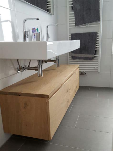 badkamermeubels rustiek badkamermeubel licht rustiek eiken zwevend laden te