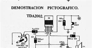 Electronica Diagramas Circuitos  Circuito Amplificador 12 Wats